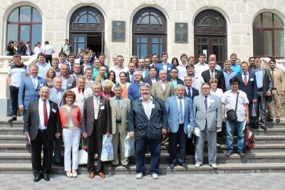 Участники конференции Механика грунтов в геотехнике и фундаментостроении