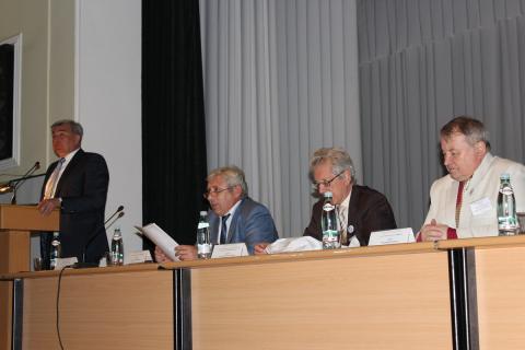 Приветственная речь ректора ЮРГПУ (НПИ) д.т.н. Передерия В.Г.